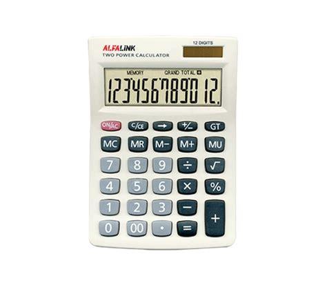 Alfalink Cd 12s Kalkulator Green alfalink
