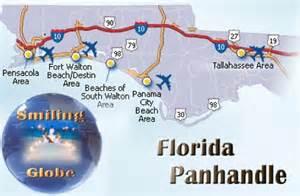 map of florida panhandle beaches florida panhandle population 1 210 233 area km2 largest