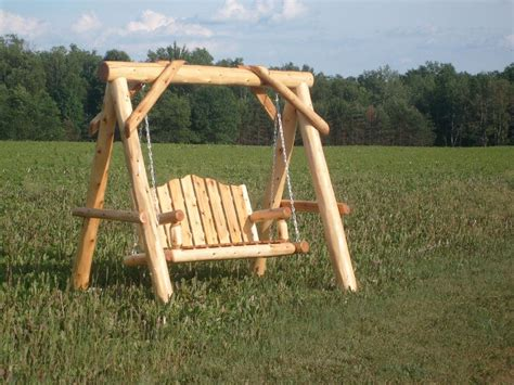 Log Swing From Timber Creations In Shawano Wi 54166
