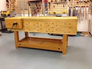 woodworking with nicholson bench project shellac on a workbench a
