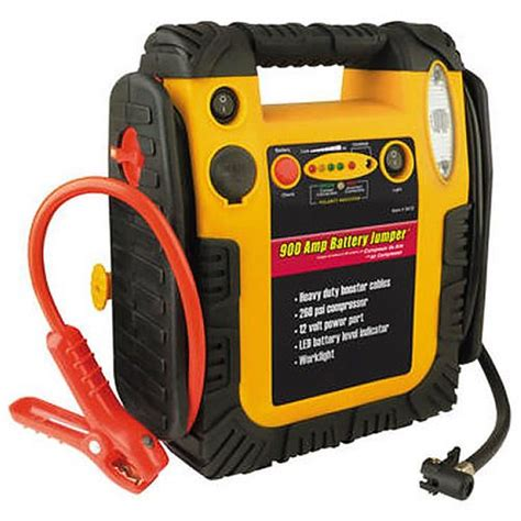 the motor trend jumpstart compressor is a reliable portable power source to you out of