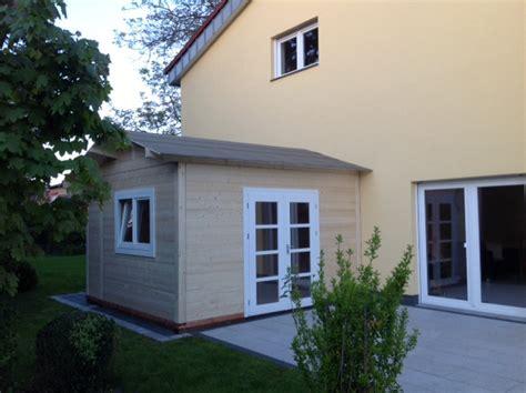 gartenhaus als wohnhaus gartenh 228 user holz schroeer bauen und wohnen