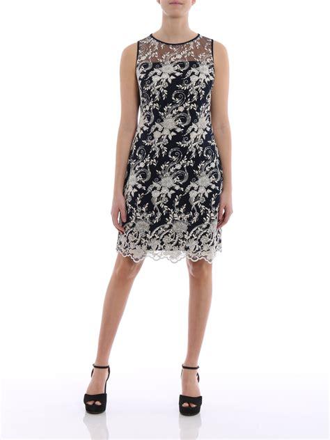Dress Melia by Melia Flower Embroidered Dress By Ralph