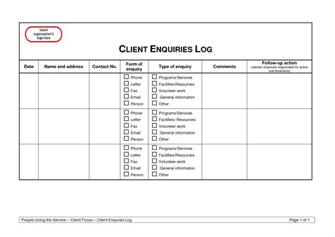 Best Photos Of Client Follow Up Template 90 Day Sales Action Plan Templates Follow Up Sheet Customer Log Sheet Template