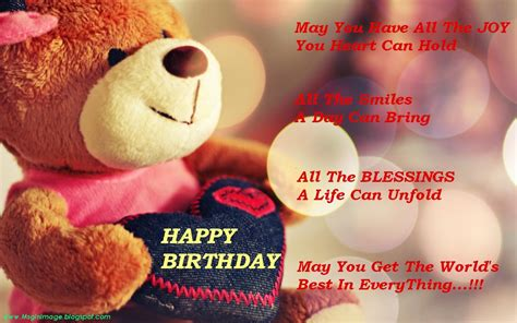 Birthday Quotes For In Cute Birthday Wishes Wish Poems My2fun Kootationcom Tattoo