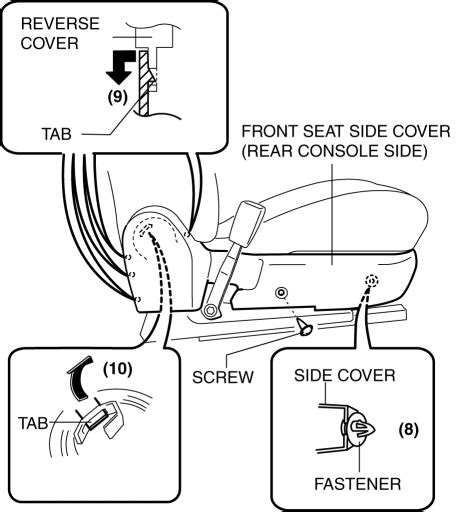 book repair manual 2012 mazda mazda3 seat position control mazda 3 service manual front seat cover removal installation vehicles without power seat