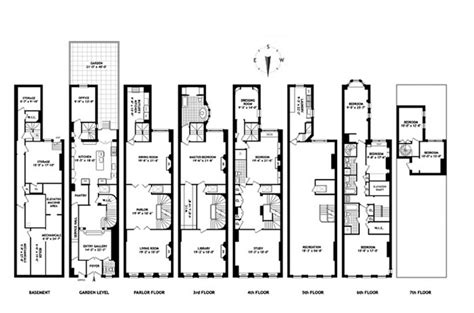 nyc floor plans 34 million 8 floor limestone mansion in new york ny