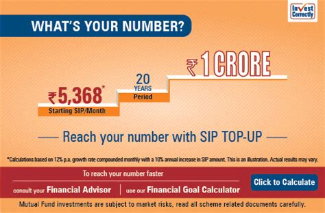 Your Numbers Up by Reach Your Number With Sip Top Up