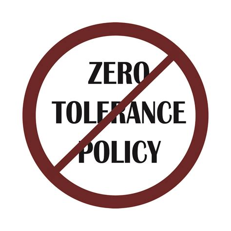 zero telorance zero tolerance is a bad idea the inclusion