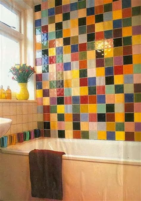 Colorful Tiles For Bathroom by Bathrooms In Color Sweet House