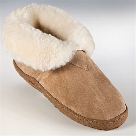 ladies house shoes old friend womens and mens bootee slippers mens slippers at only slippers