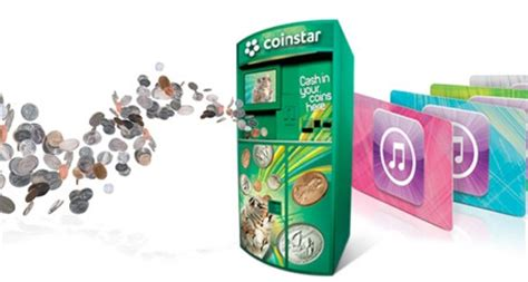 tip turn  coinage  itunes credits  coinstar vending machines