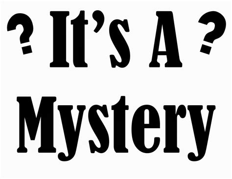 A Mystery the wi newsletter issue 210