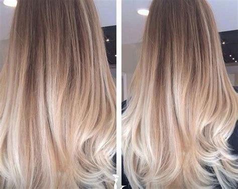 Rambut Sambung Warna model warna ombre 17 terbaik ide tentang warna rambut