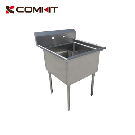 one compartment stainless steel sink 16 stainless steel one compartment commercial sink