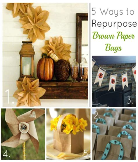 brown paper crafts brown paper bag crafts to make