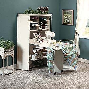 sauder craft armoire harbor view collection harbor view craft armoire 158097 sauder