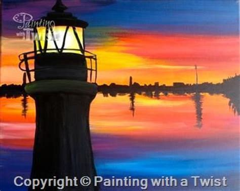 paint with a twist east dusk at the lighthouse 35 colorado springs east co