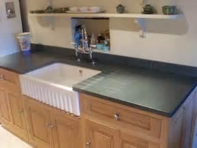 Kitchen Countertop Sink - kitchen worktops and flooring saddleback slate