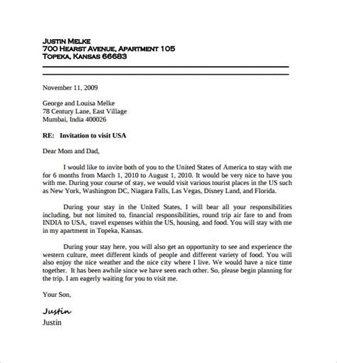 invitation letter pdf invitation letter canada pdf letters free sle letters