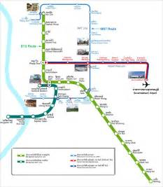 Bangkok mrt bts map car pictures