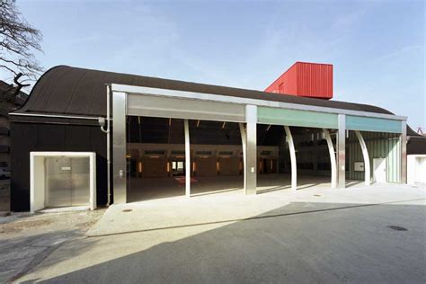houses with big garages sjakket youth house copenhagen community building e architect