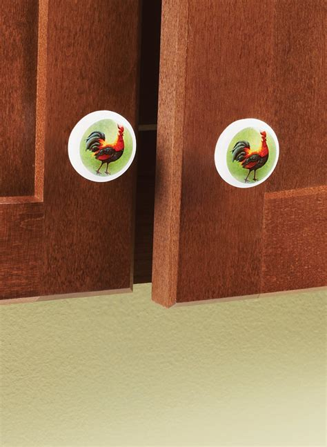 ceramic rooster cabinet knobs rooster cabinet knobs carolwrightgifts com
