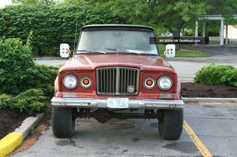 jeep gladiator 1963 rare 1963 jeep j 10 gladiator 4x4 chevy 350 4bbl 400