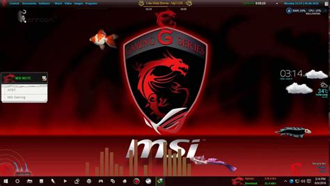 Theme Windows 10 Msi | msi gaming theme for windows 7 8 1 10 youtube