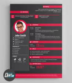 Original Resume Templates by Creative Cv Exle Original Cv Design Resume Template