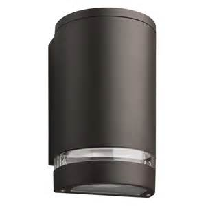 outdoor cylinder light buy the white 8 inch outdoor led wall cylinder light