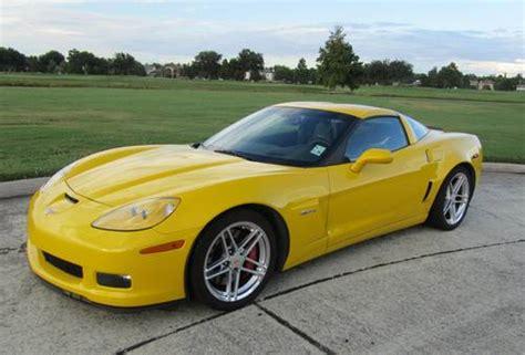 2008 Corvette Z06 Yellow Super Condition Loaded Sold
