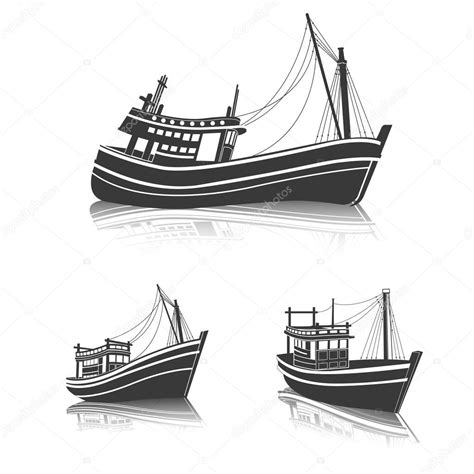 fishing boat clipart vector fishing boat vector stock vector 169 10comeback 115695022