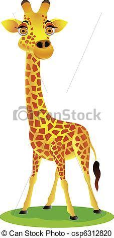imagenes de jirafas caricaturas vector clip art de jirafa caricatura vector
