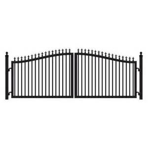 home depot gate mighty mule st augustine 14 ft x 5 ft 2 in powder