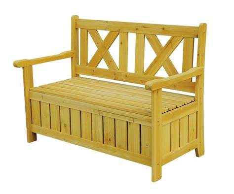 outdoor wooden bench with storage outdoor storage bench the storage home guide