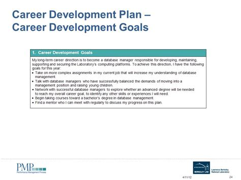 career development goals and objectives annual self assessment workshop for employees ppt