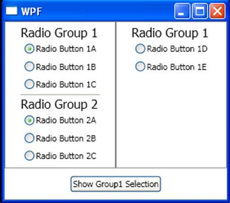 tutorial html radio button image radiobutton radiobutton 171 windows presentation