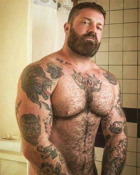 tattoo on chest hair pin by carsten schwarz on viecher pinterest bears