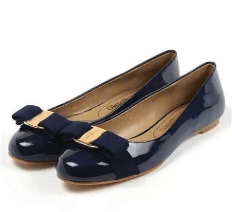 Salvatore Feragamo Flat Shoes ferragamo varina flat shoes navy blue sf2k15 flats
