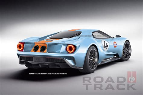gulf ford gt 2017 ford gt in gulf livery svtperformance