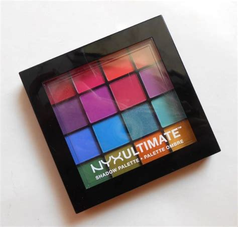 Nyx Brights nyx ultimate shadow palette usp04 brights lumineux