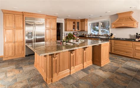 natural cherry kitchen cabinets kitchens custom cabinetry by ken leech