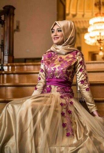 desain gamis kebaya kombinasi satin inspirasi model kebaya modern muslim untuk acara formal