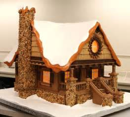 gingerbread log cabin template simply put mike s amazing cakes krishenka