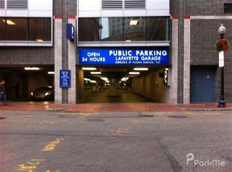 Parking Garages In Boston by Lafayette Parking Garage Parking In Boston Parkme
