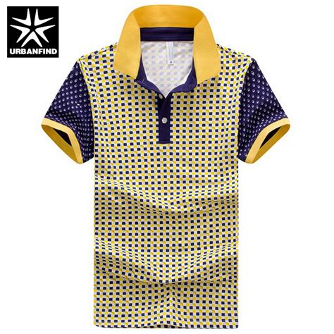 design a shirt with sleeve print urbanfind short sleeve men cotton shirts plaid print