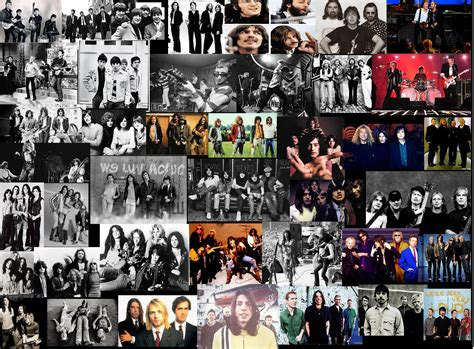 collage music photo collection pop music collage wallpaper