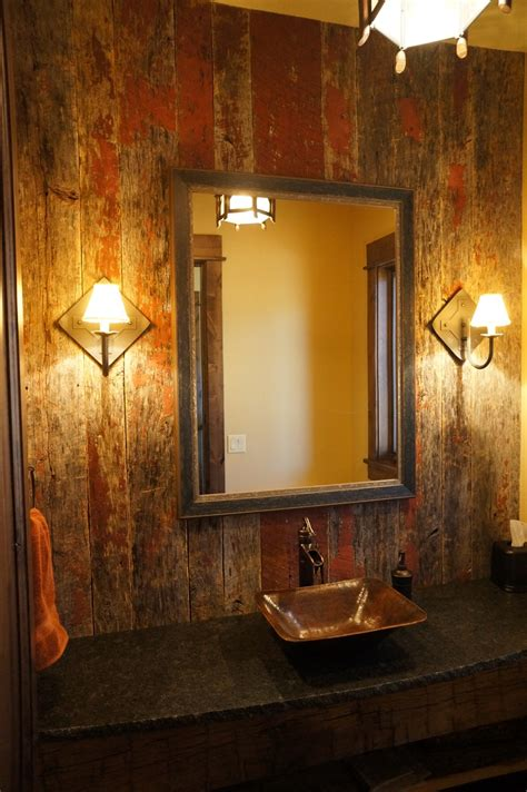 Barn Wood Bathroom Grey Barn Siding In Bathroom Reclaimed Barn Wood Pinterest Boys Products And Bathroom