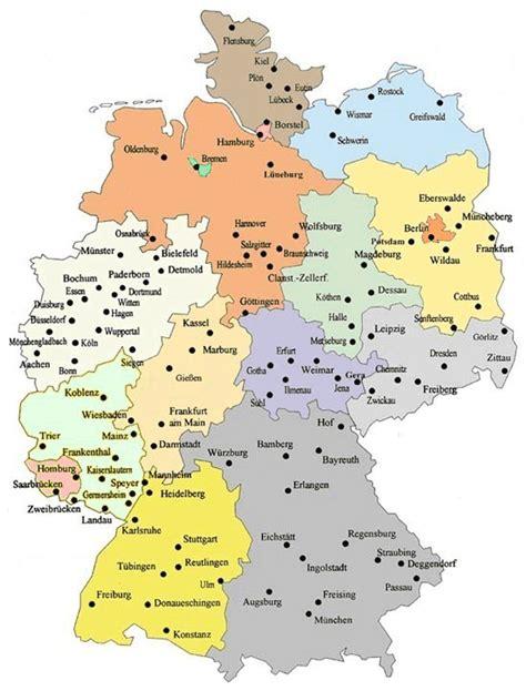 karta deutschland isimsiz karte deutschland